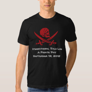 Talk Like A Pirate Day 2012 Dark T-Shirt
