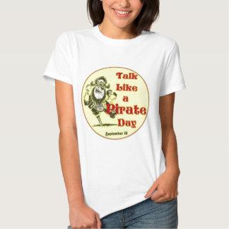 Talk Like a Pirate Day Shirts