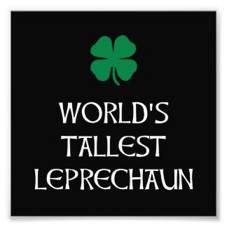 Tallest Leprechaun Photo Print
