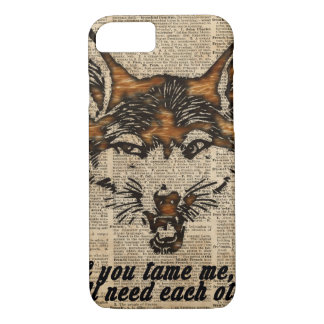 Tame Me - Dictionary Art iPhone 7 Case