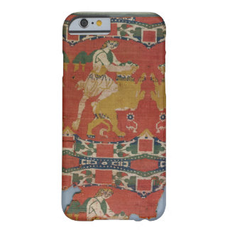 Taming of the Wild Animal, Byzantine tapestry frag Barely There iPhone 6 Case