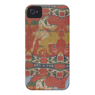 Taming of the Wild Animal, Byzantine tapestry frag iPhone 4 Covers