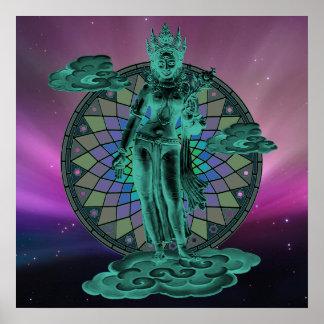 Tara , Goddess of Compassion Poster