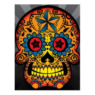 Tattoo Skull Postcard