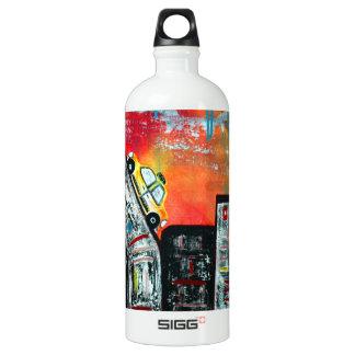 Taxi Cab City Art SIGG Traveller 1.0L Water Bottle