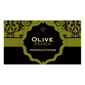<TBA WINNER>Olive Juice Pack Of Standard Business Cards