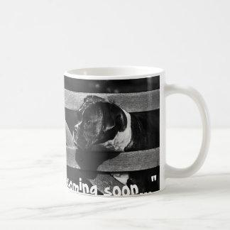 Tea Break Ahead Basic White Mug