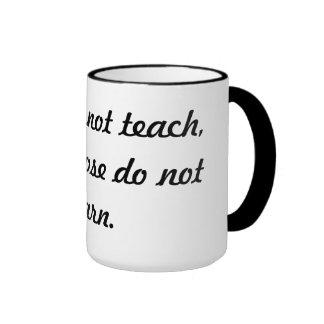 Teach & learn ringer mug