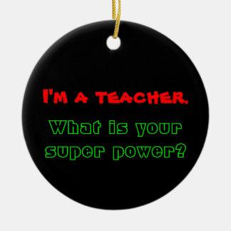 Teacher Ornament