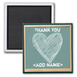 TEACHERS APPRECIATION GIFTS SQUARE MAGNET