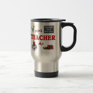 Teachers Do It With Class Stainless Steel Travel Mug