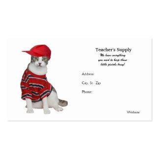 Teacher's Supply Pack Of Standard Business Cards