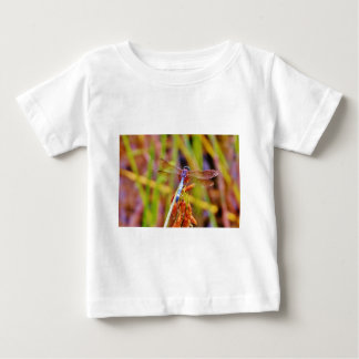 Teal Dragonfly on sedge Shirts