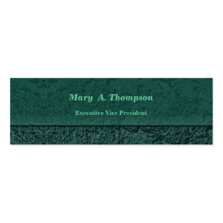 Teal Stucco Texture Pack Of Skinny Business Cards