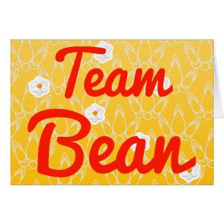 Team Bean Greeting Card