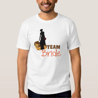 Team bride - cartoon lions shirt