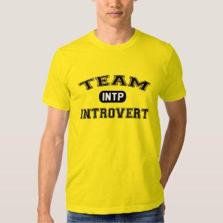 Team Introvert: INTP Tshirts