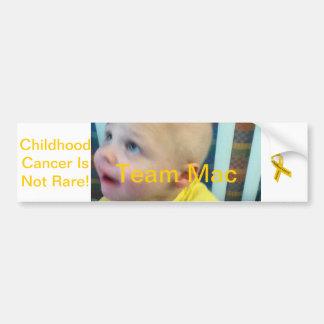 Team Mac Card Decal Bumper Sticker