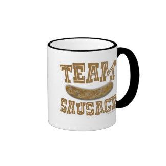 Team Sausage 2-sided Ringer Mug