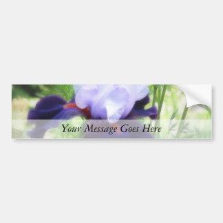 Teamwork - Tall Bearded Iris Bumper Sticker
