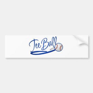 Tee Ball Bumper Sticker