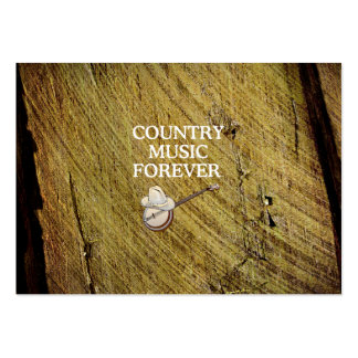 TEE Country Music Forever Pack Of Chubby Business Cards