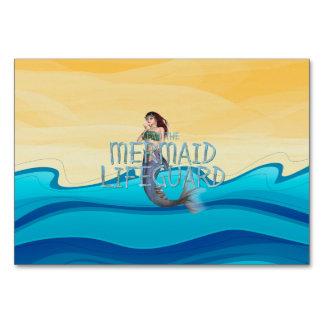 TEE Mermaid Lifeguard Table Cards