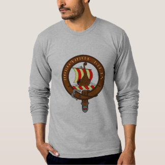 Tee-shirt long sleeves gray man Normandy Kilts Tshirts