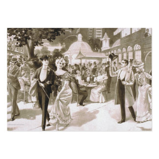 TEE Victorian Days Pack Of Chubby Business Cards
