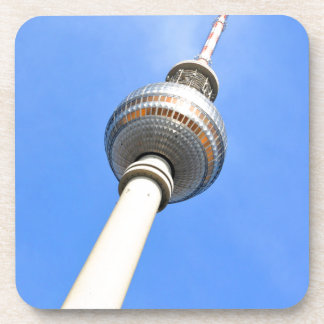 Television Tower (Fernsehturm) in Berlin, Germany Beverage Coasters