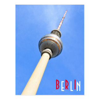 Television Tower (Fernsehturm) in Berlin, Germany Postcard