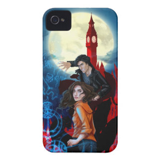 Temperance and Alastair: Magical Attack iPhone 4 Cover