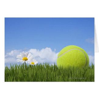 Tennis Balls Greeting Card