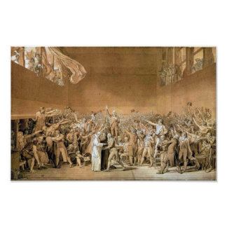 Tennis Court Oath Poster