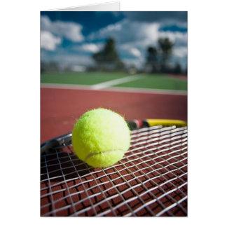 Tennis Greeting Card