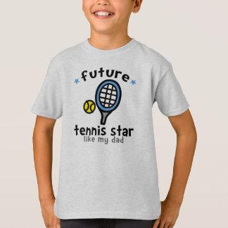 Tennis Like Dad Tshirts