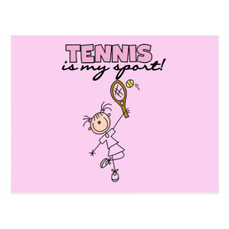Tennis My Sport Tshirts and Gifts Postcard
