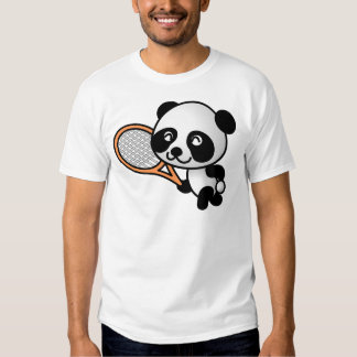 Tennis Panda Tee Shirt