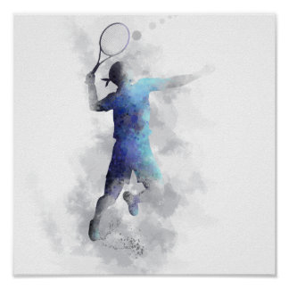 TENNIS PLAYER - Poster
