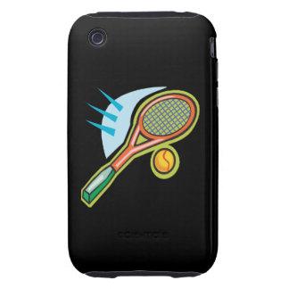 Tennis Racquet iPhone 3 Tough Cover