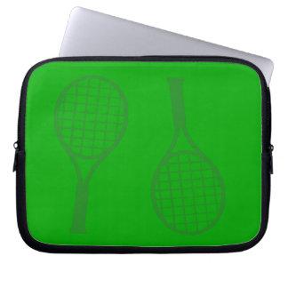 Tennis Racquets Laptop Sleeve