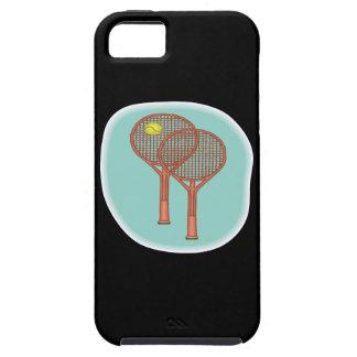 Tennis Racquets Tough iPhone 5 Case