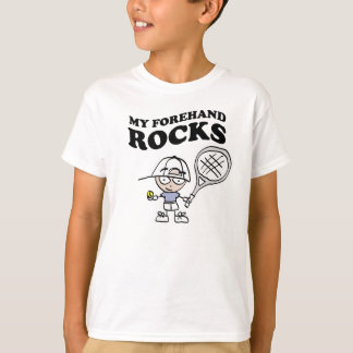 Tennis t shirts for kids with funny slogan saying