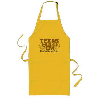 Texas Hold 'Em apron