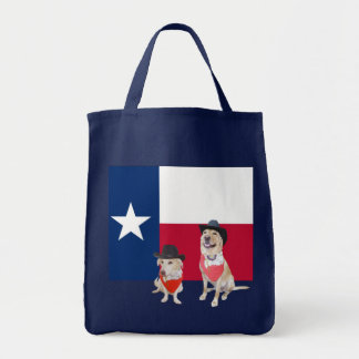 Texas Labs Grocery Tote Bag