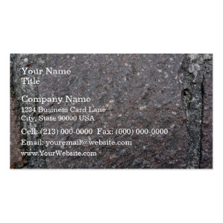 Texture of Eroded Mountain Wall Pack Of Standard Business Cards