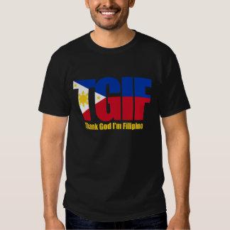 TGIF Filipino with Philippine Flag Tee Shirts