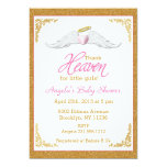 Thank Heaven for Little Girls Baby Shower 13 Cm X 18 Cm Invitation Card