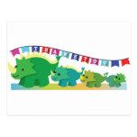 THANK you Dinosaurs cute! Postcard