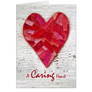 Thank You to Hospice Nurse, Quilted Heart Greeting Card